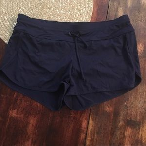 Athleta Navy Swim Shorts
